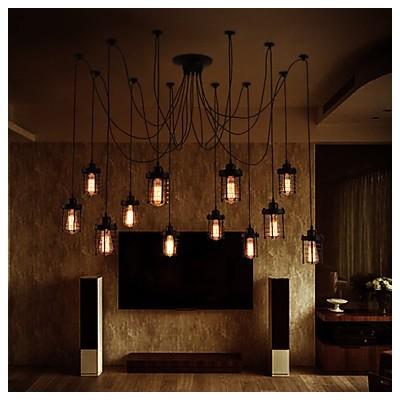 Max 60w lustre contemporain plaqu fonctionnalit for - Lustre salle a manger contemporain ...